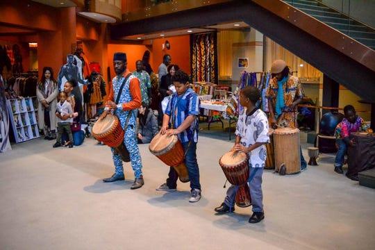 Drum performances will take place throughout NJPAC's Kwanzaa celebration.