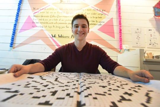 Hoboken man Sam Ezersky wrote this year's 'super mega' crossword in the New York Times.