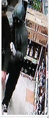The incident took place Tuesday night at Yucca Valley Liquor, according to the San Bernardino County Sheriff's Department.