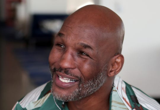 Former boxer Bernard Hopkins, will be entering the International Boxing Hall of Fame this summer in New York. He was at Fantasy Springs Resort Casino on Thursday, December 12, 2019.