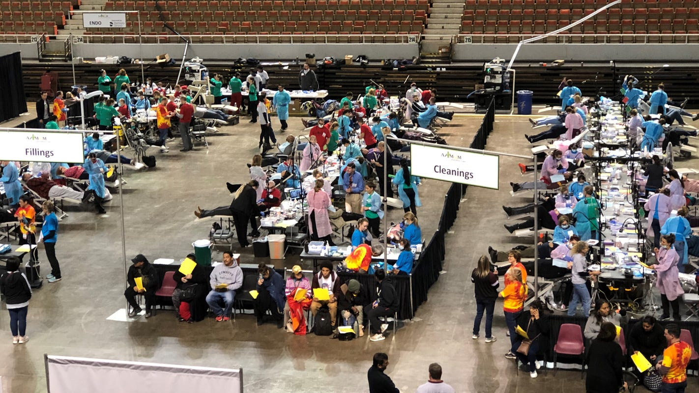 Free 2-day dental clinic prepared to assist thousands in Phoenix