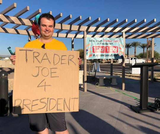 Christopher Jenkins lives on Goodyear's south side, near the Estrella Mountains, and drives 60 miles each week to grocery shop at Trader Joe's.