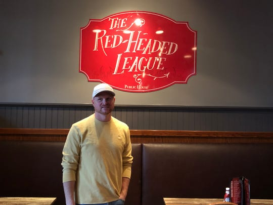 Lebanon native Michael Kapp is making moves on the third floor of the Lebanon Farmers Market with his new brand, the Red-Headed League Public House.