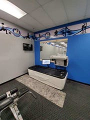 Marine City Health and Fitness offers tanning and hydro massage services to members at its new location at  601 Shortcut Road in Marine City.