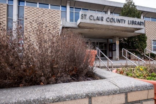 A discussion being had about developing a new location for St. Clair County Library's main branch has yet to come to any conclusions.