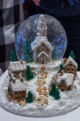 The Castelo Snowglobe was created by Lisette Lucas for the Mohonk Mountain House annual Gingerbread Competition, Dec. 8, 2019.