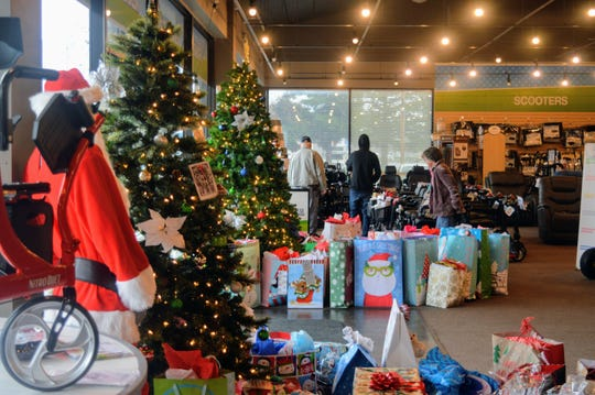Everything Medical on Athens Avenue in Redding is collecting gifts to send to seniors in care facilities.