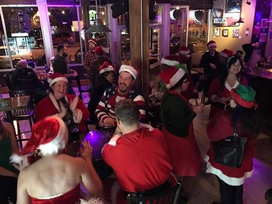 The Ho-Ho-Ho Holiday Cheers Pub Crawl for those 21 and older starts at 7 p.m. Dec. 21.