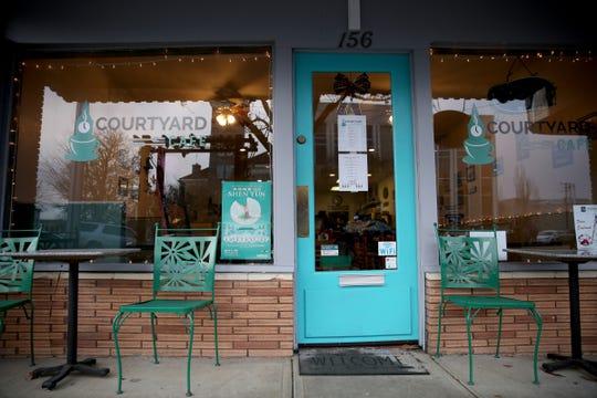 Courtyard Cafe in Dallas on Dec. 13, 2019.