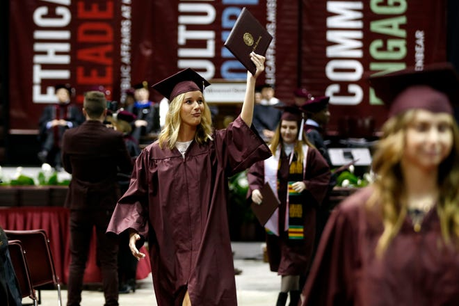 Commencement ceremonies scheduled this May for Missouri State University at JQH Arena will look different than they did in 2019. The ceremonies will be smaller and there will be more of them.
