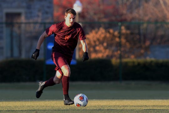 James Kasak hopes a professional soccer career is in his future after finishing up at Virginia Tech.