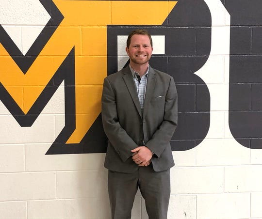 Matt Griggs is the men's basketball coach at Mary Baldwin University. He was hired to help launch the program which will begin play next year.