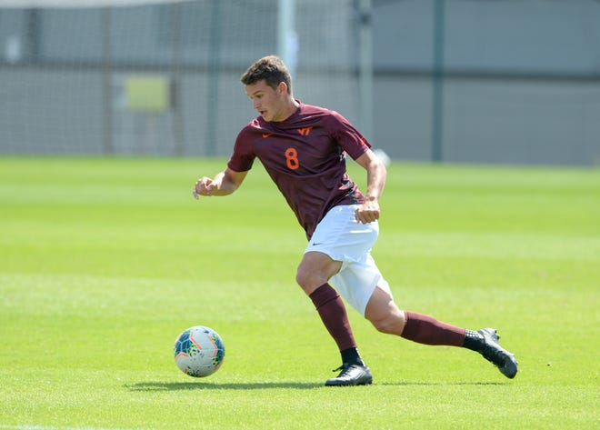 James Kasak, a former Riverheads standout, just finished his senior season for Virginia Tech men's soccer.