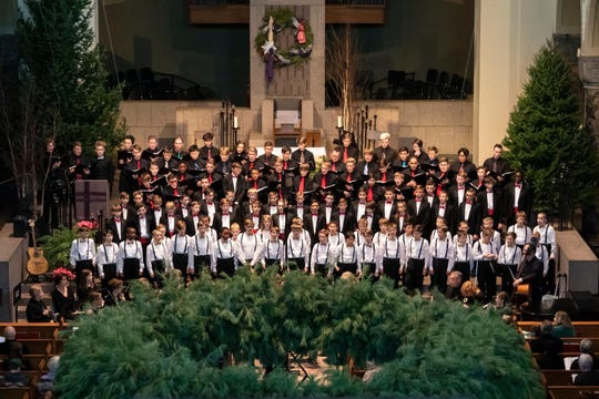 The St. John's Boys' Choir will perform their annual Ceremony of Carols at 2 p.m. Dec. 21 at St. John's Abbey and 8 p.m. at St. Mary's Cathedral.