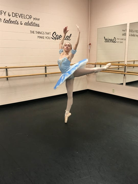 "Gracie Salkowski will take on the roles of the Snow Queen and Sugar Plum Fairy in the Stroia Ballet Company's performance of ""The Nutcracker."""
