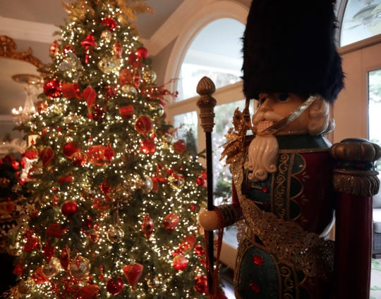 Stephanie Jansen has a passion for Christmas. Her home is fully dressed for the holiday as she brings London to Tallahassee. Jansen's home is a part of the Tallahassee Symphony Society's 27th Annual Tour of Homes.