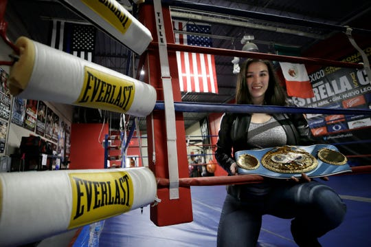 El Paso's sweetheart Jennifer Han announced her return to the ring during a press conference Thursday at Warrior's Edge Boxing Gym. The fight will be held February, 15, 2020 but an opponent has yet to be named. Han is returning to boxing after the birth of her son.