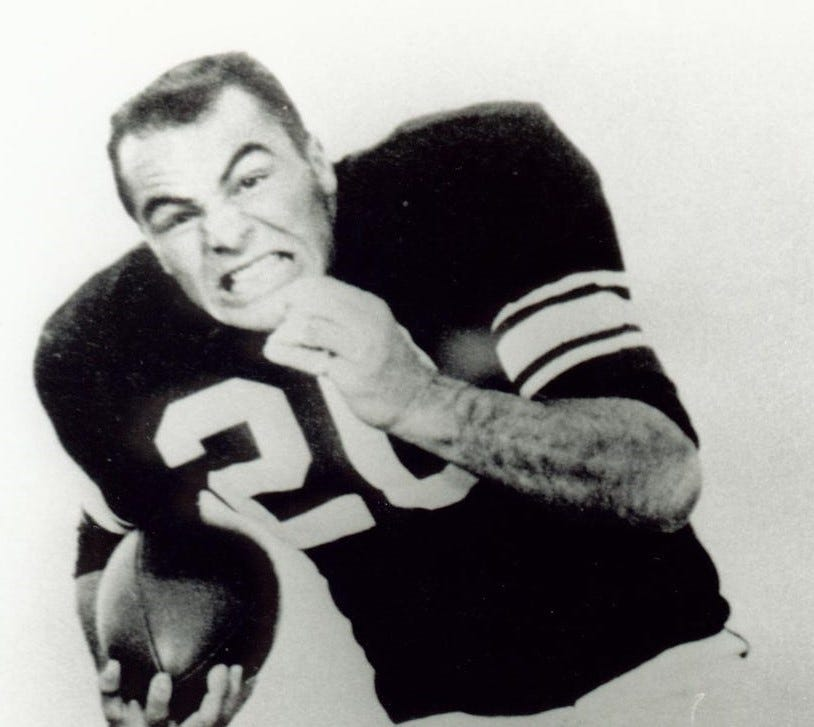 Burt Reynolds, FSU 1955 Sun Bowl
