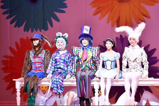 Hong Kong Ballet's Alice (in Wonderland) will be at the Peace Center on April 21