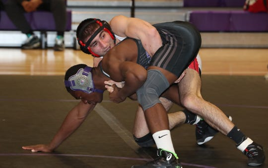 Section 1 Dual Meet Wrestling Tournament Division I meet at New Rochelle Dec. 12, 2019.