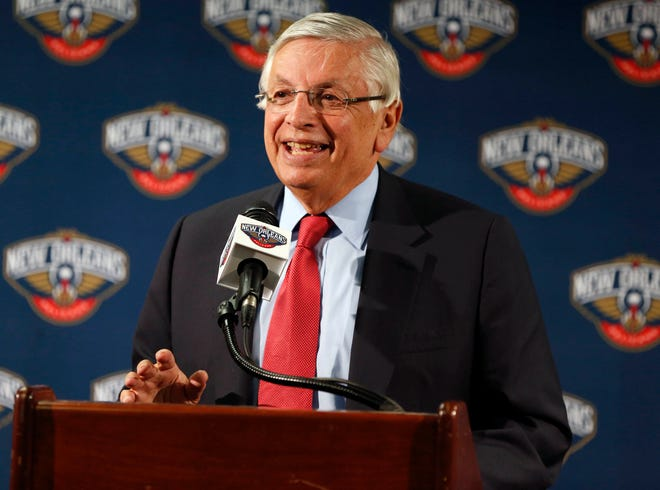 David Stern served as NBA commissioner from 1984-2014.