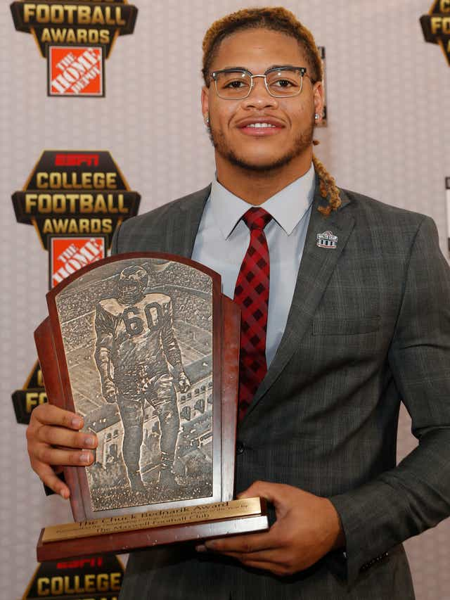 Chase Young Ohio State Star Will Be Apple Of Ny Giants Eye