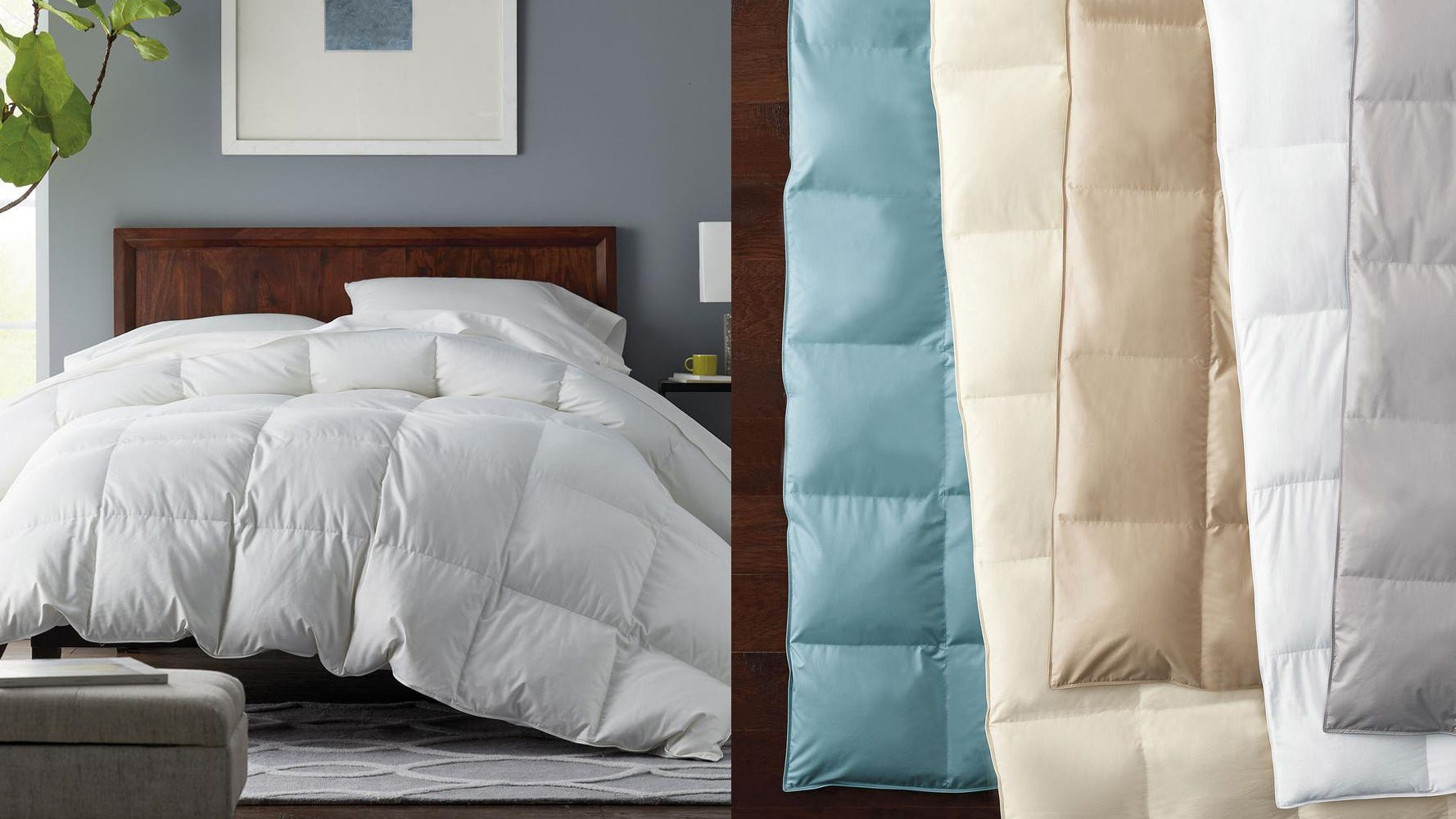 Holiday Deals 2019 The Best Down Comforter Is At Its Lowest Price Ever