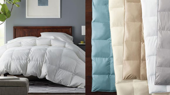 Snuggle up with sweet savings on a new comforter.
