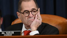 House Judiciary Committee Chairman Rep. Jerrold Nadler, D-N.Y. listens during the House Judiciary Committee markup of H.Res. 755, Articles of Impeachment Against President Donald J. Trump in Washington, DC on Dec. 12, 2019.