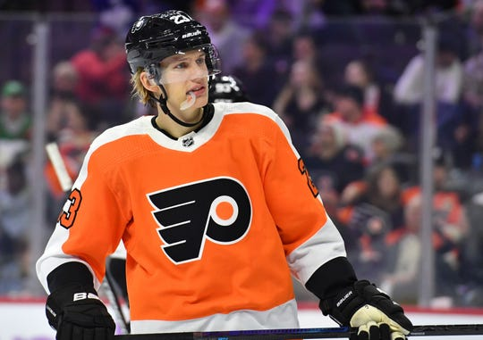 Philadelphia Flyers left wing Oskar Lindblom will be treated for a form of bone cancer.