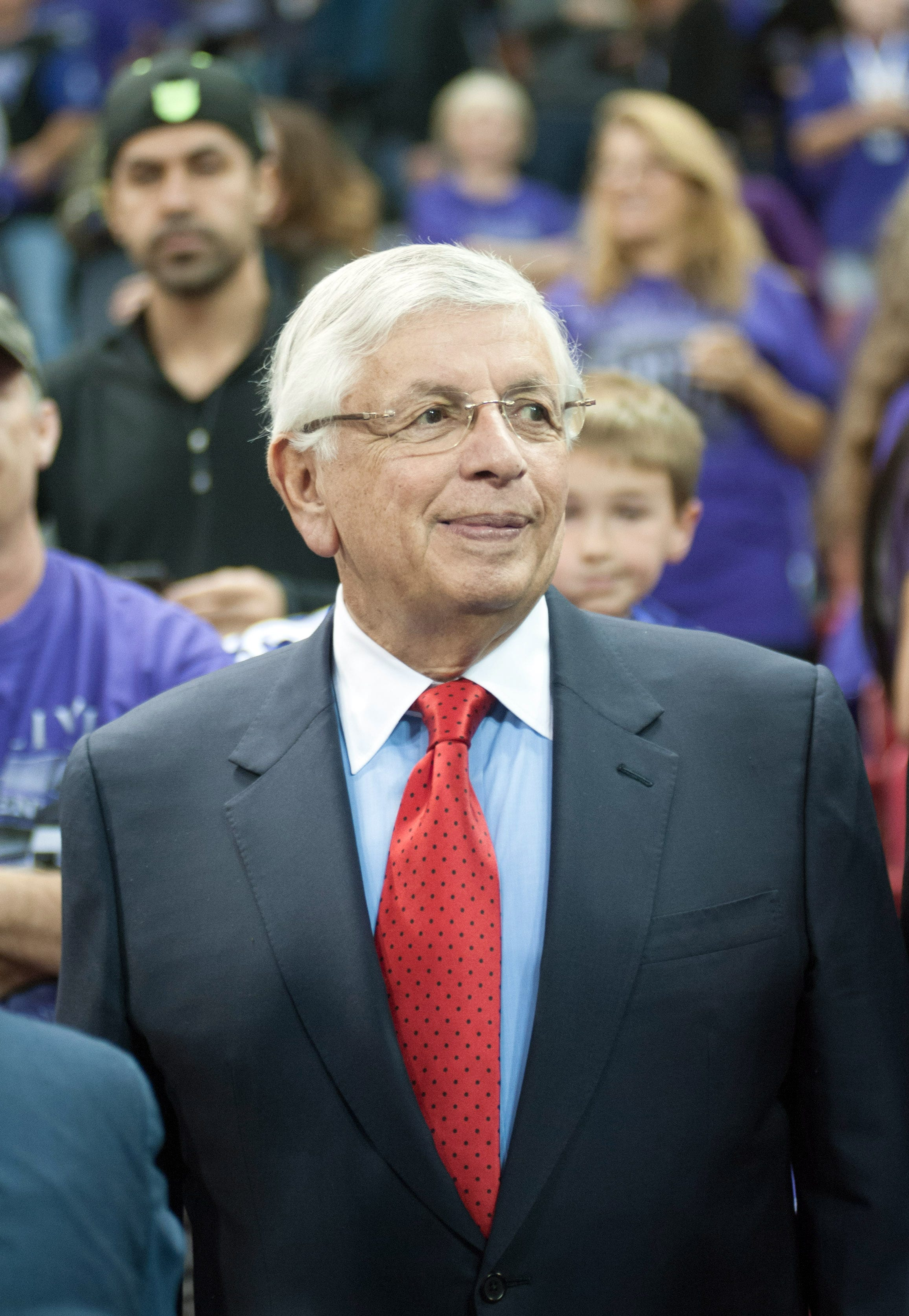 Former NBA commissioner David Stern hospitalized after sudden brain hemorrhage
