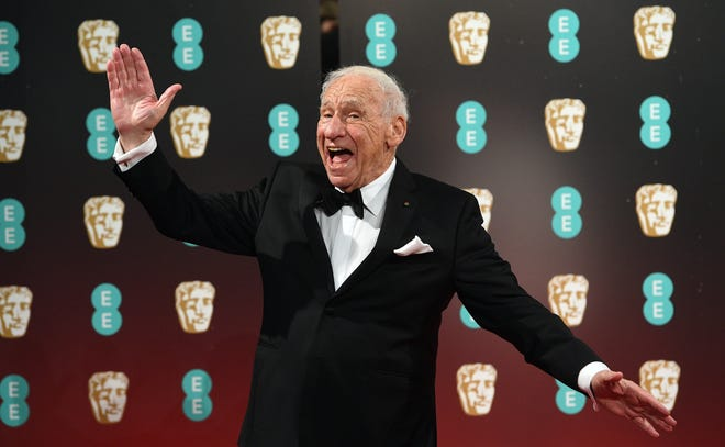 Mel Brooks, seen here at he 2017 BAFTA Awards in London, is the subject of a new HBO special, 'Mel Brooks: Unwrapped.'