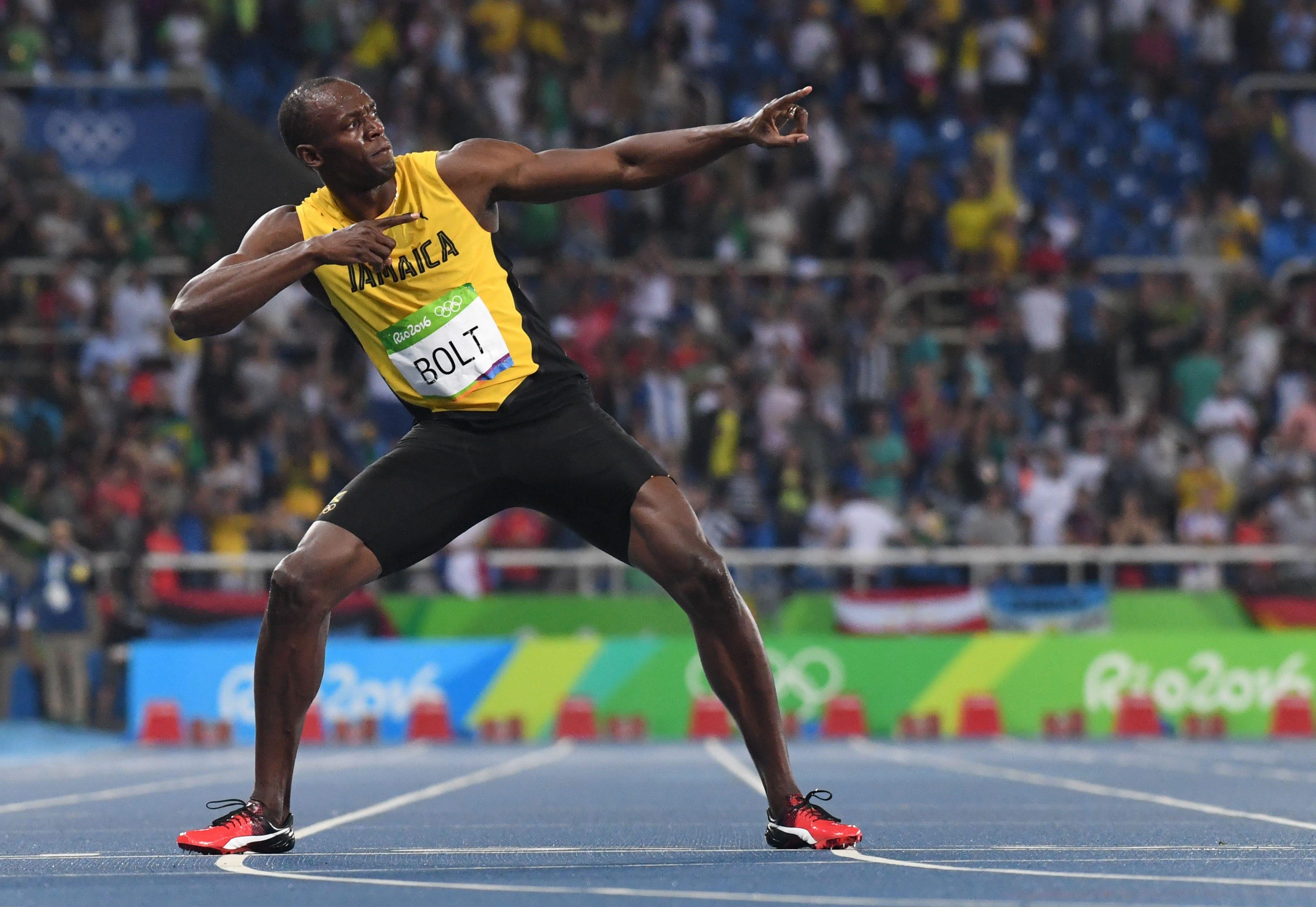 Usain Bolt shares first photo of newborn twin sons, Thunder and Saint Leo