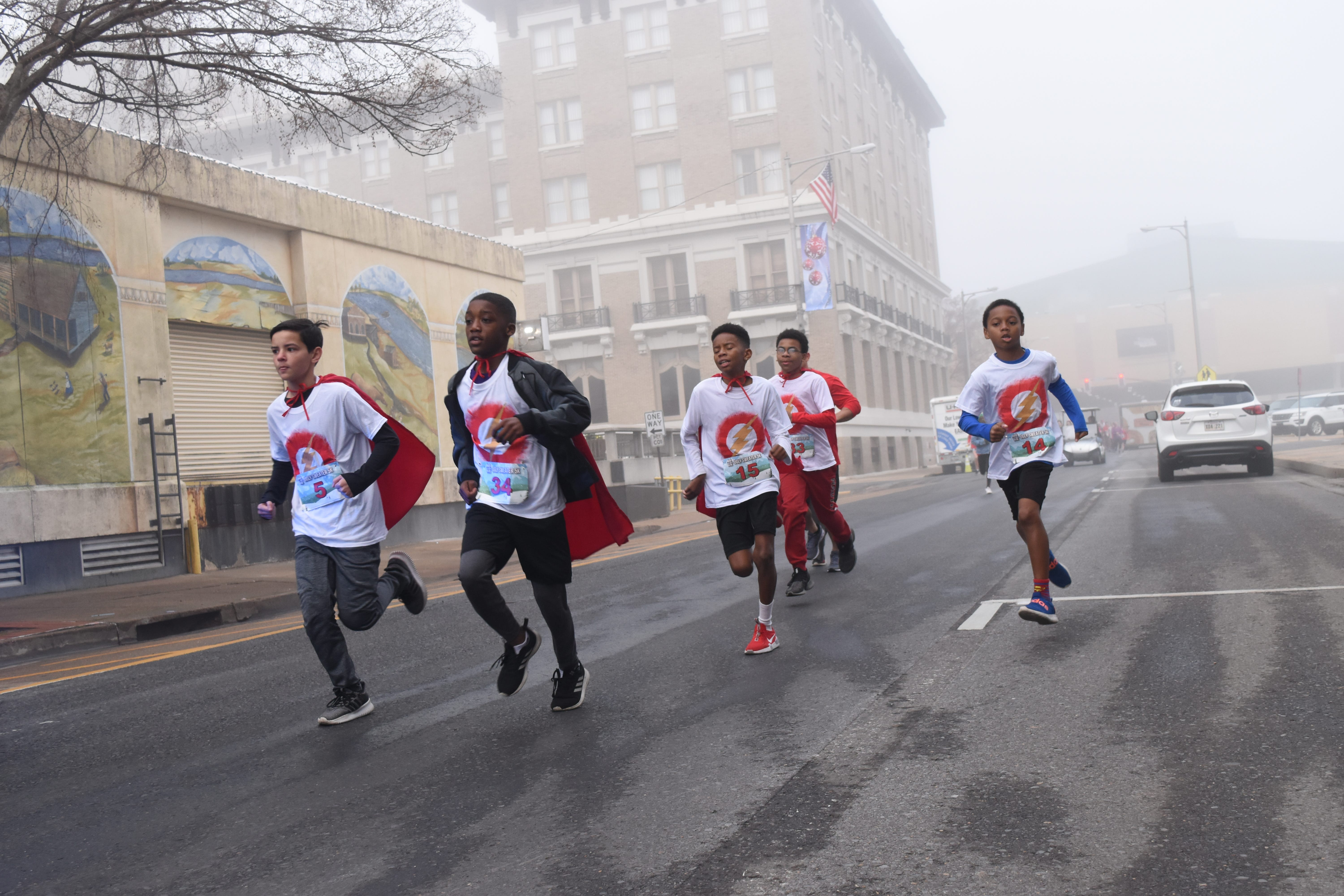 Boys' running group forges bonds of brotherhood