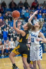 Colonel Crawford's Theresa Dzugan was named Third Team All-T-F.