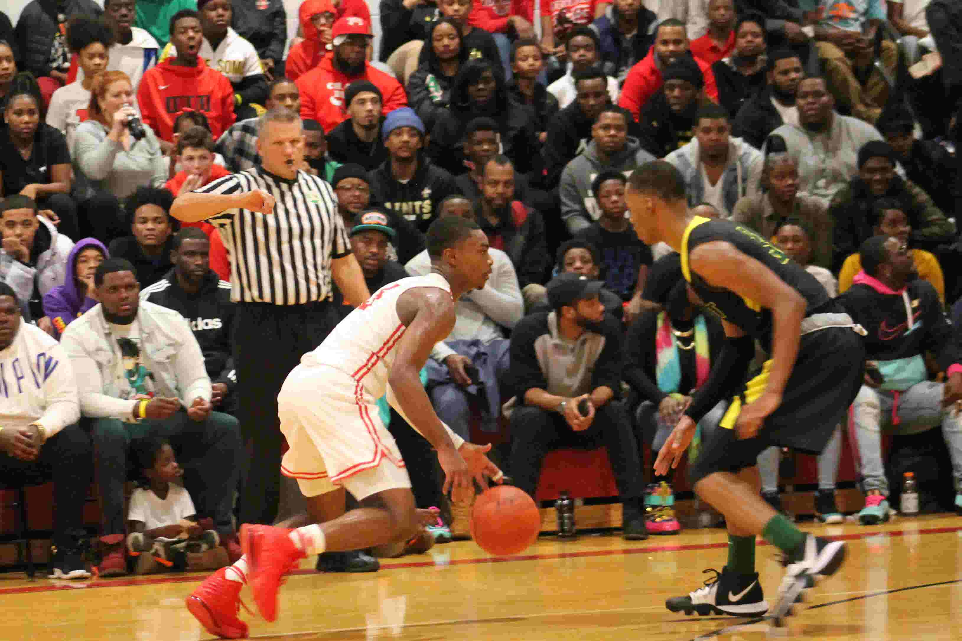 Hughes holds off Taft in tight CMAC basketball game