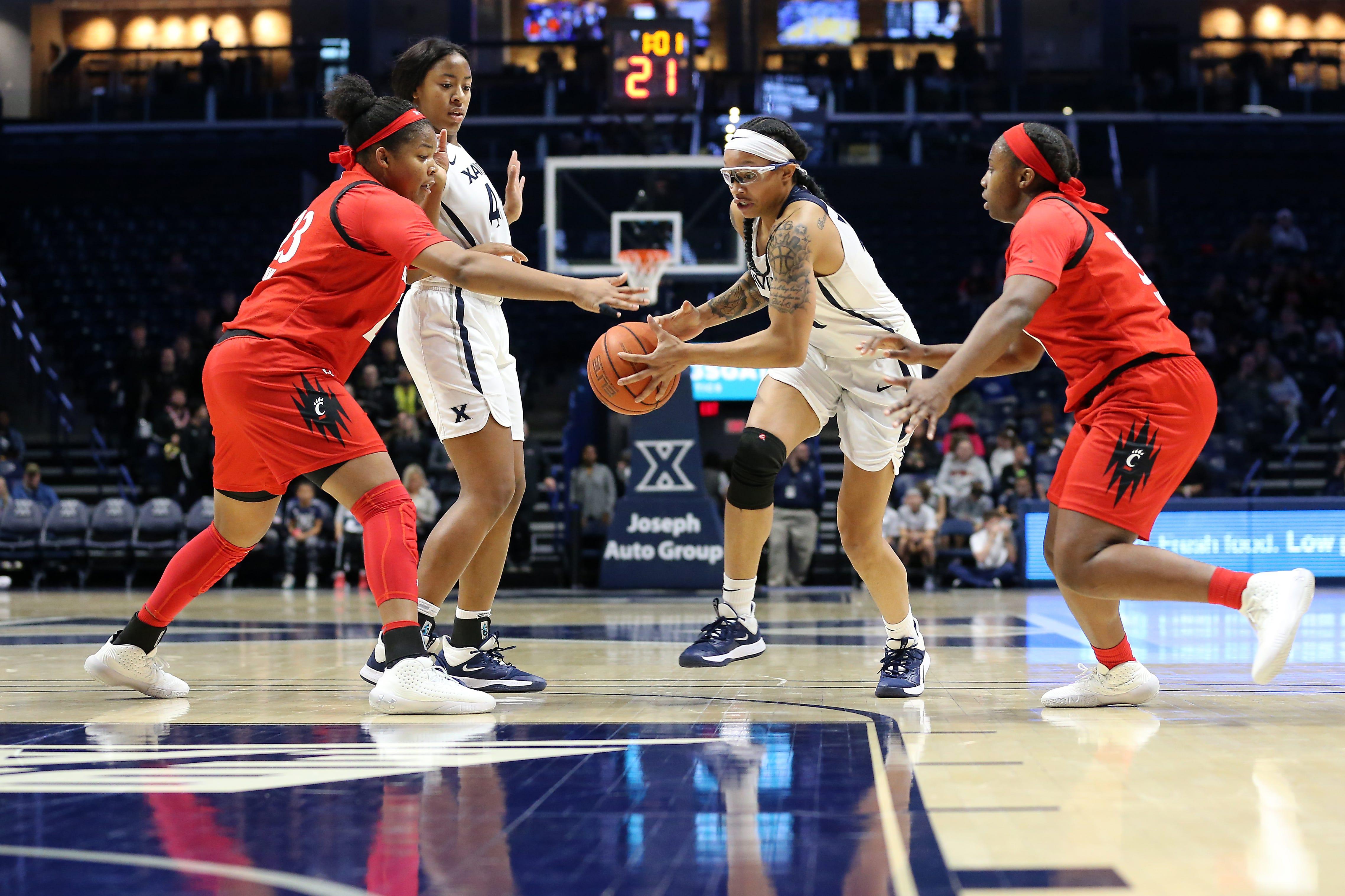 NCAA Women's Basketball: Cincinnati Bearcats vs. Xavier Musketeers, Dec. 14