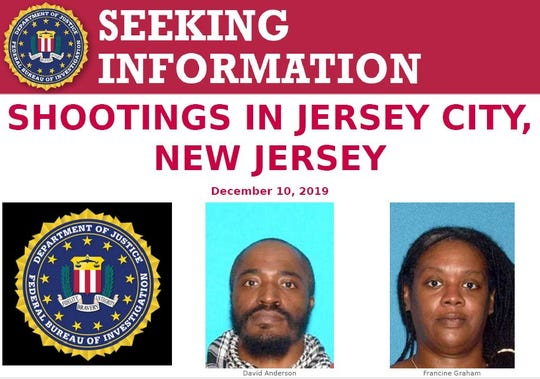 Jersey City shooting suspects may have Ohio ties, according to the FBI