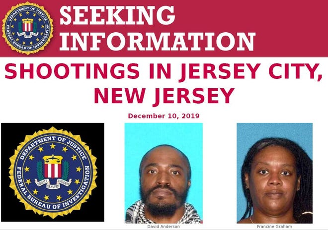 Jersey City shooting suspects