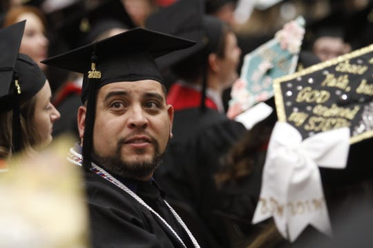 Austin Peay State University held its winter commencement ceremonies on  Friday, Dec. 13, 2019.