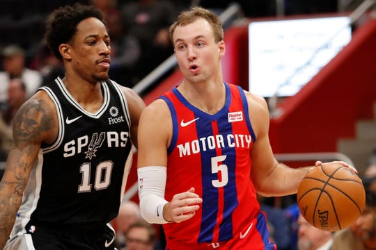 Pistons guard Luke Kennard, 23, will be eligible to sign a contract extension next summer.
