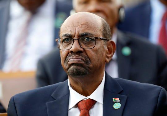 Former Sudan President Omar al-Bashir