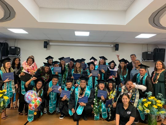 GCC held a commencement ceremony for 34 graduates who recently completed the adult high school and high school equivalency programs.
