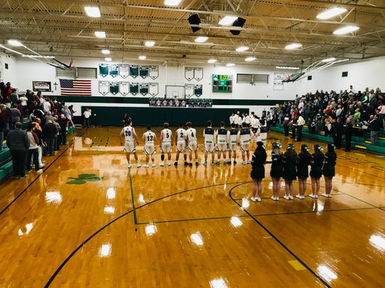 It was a packed Fisher Catholic gymnasium Friday night as the Irish hosted their rival Berne Union.