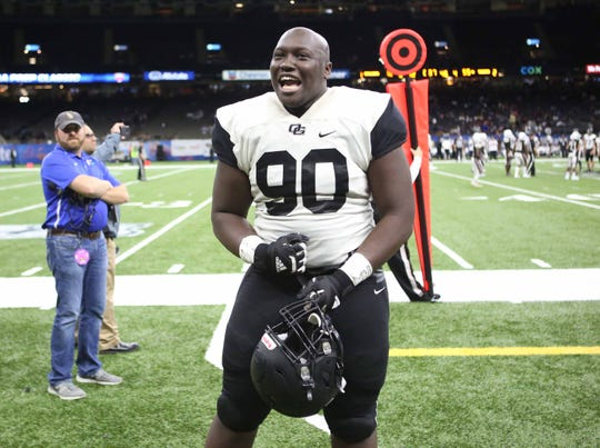 Oak Grove ended its state championship drought with a 55-12 win over White Castle in New Orleans on Dec. 14.