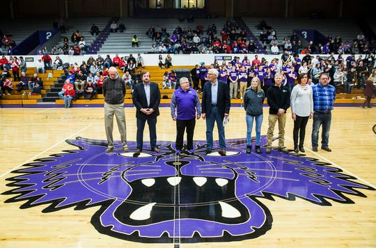 Central honored those who helped play a role in bringing the Muncie Fieldhouse back to its former glory. The 91-year-old gym was re-dedicated Friday, Dec. 13, two years after it was damaged by an EF-2 Tornado.