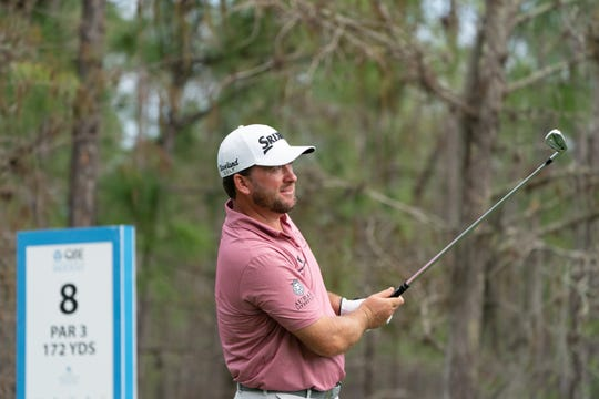 Graeme McDowell and teammate Ian Poulter are one shot back after the second round of the QBE Shootout was played on Saturday, Dec. 14, 2019 at Tiburon Golf Club at the Ritz-Carlton Golf Resort. Five teams are tied for the lead going into the final round Sunday.