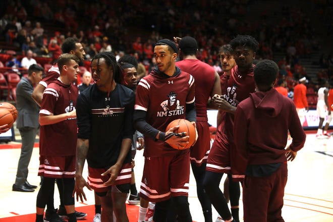 The New Mexico State men's basketball team is 6-6 to start the season.