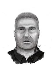 This is the likeness of a man police believe broke into a Riverside home on Dec. 11, 2019 and sexually assaulted a woman  while her husband was sleeping next to her. The public is asked to call authorities if they see this man.
