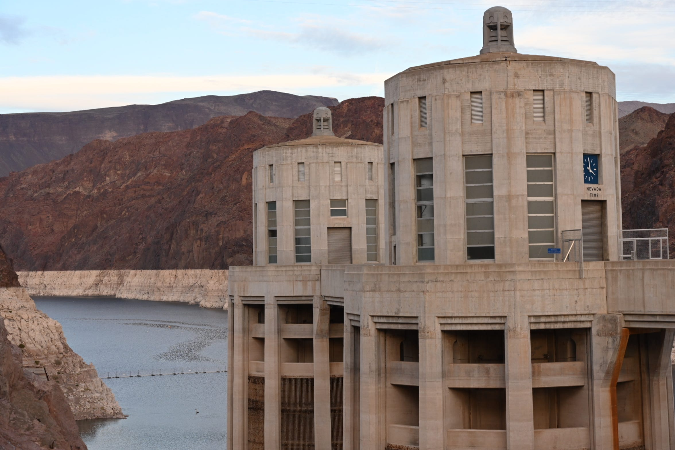 Lake Mead has declined since 2000 and is now 44% full.